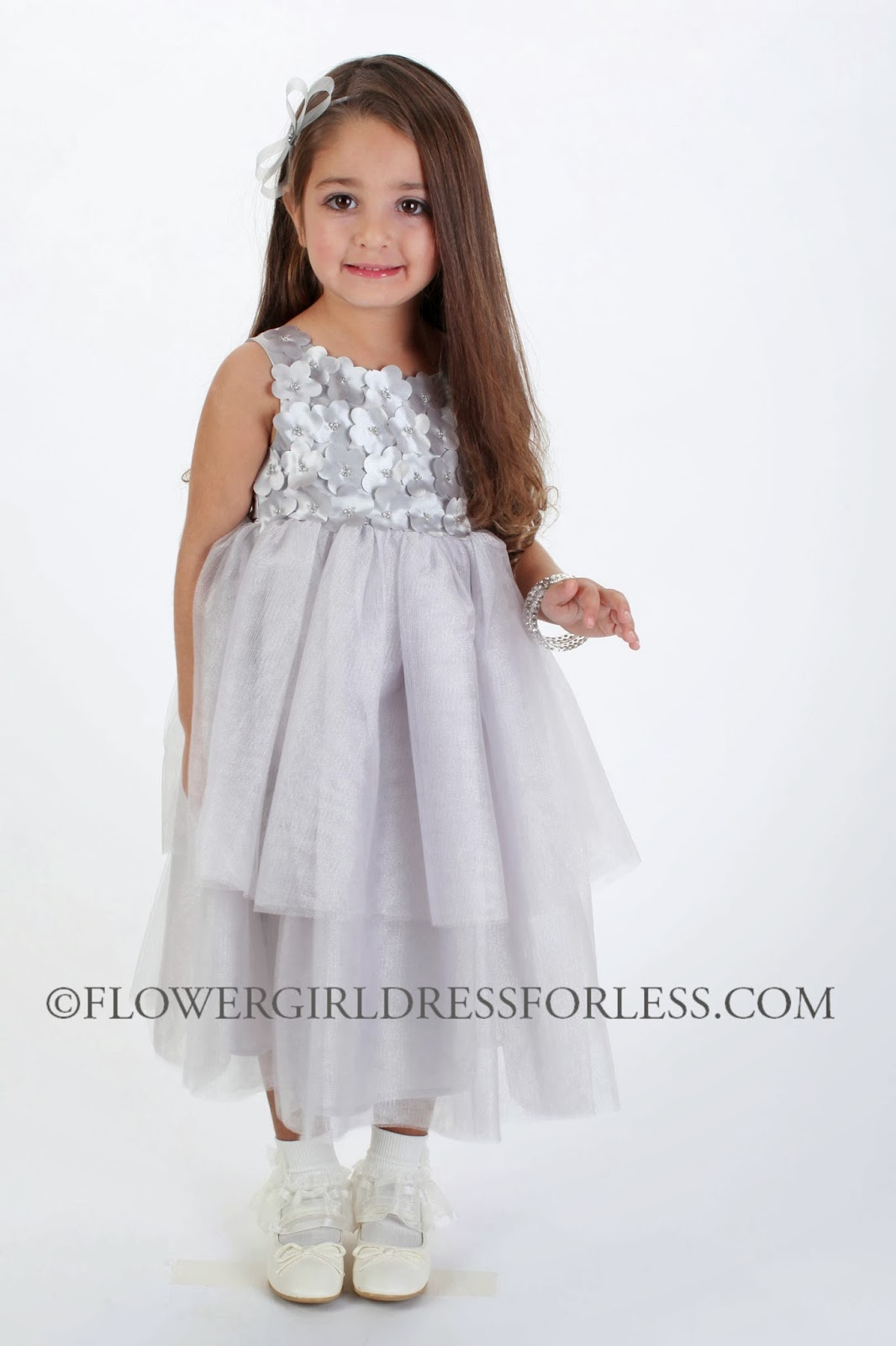 62a7494469 Biscotti flower girl dresses for today s modern bride