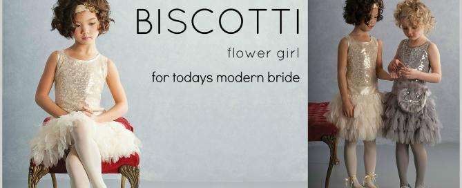 Biscotti flower girl dresses