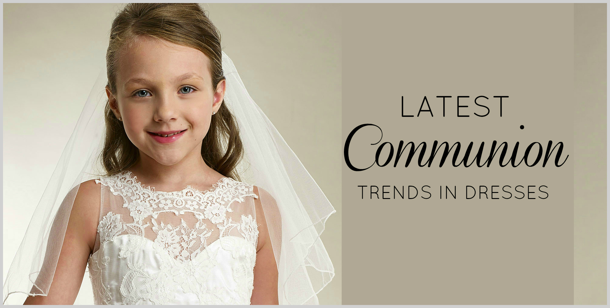 First Communion Dresses for Less