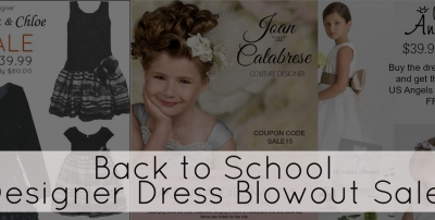 Designer Girl Dresses - Blowout Sale