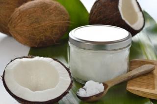 Coconut Oil and Sea Salt