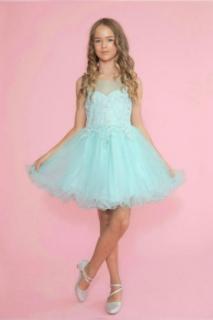 2018 Pageant Dress Style TY002 Aqua