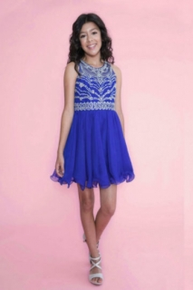 2018 Pageant Dress Style TY001 Royal Blue