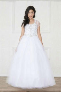2018 Pageant Dress Style KY202 White