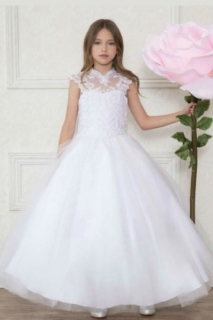 2018 Pageant Dress Style SY118 White