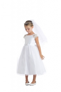 2018 Communion Dress Style 621 White