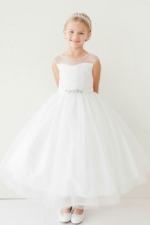 2018 Communion Dress Style 5712 White