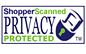 This website is enrolled in the ShopperScanned(r) Privacy Protected(tm) seal program - click to verify