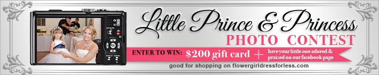 Little Prince and Princess Photo Contest
