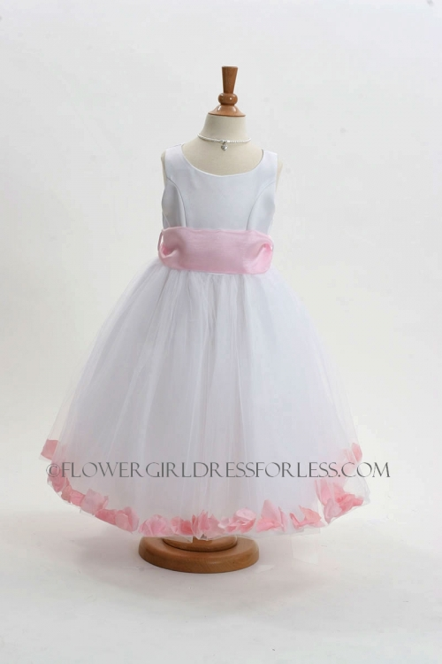 152WLP - Flower Girl Dress Style 152-Choice of White or Ivory ...