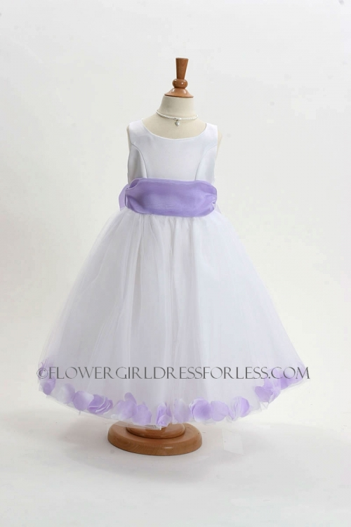 f27aa9fa82b MB 152WL - Flower Girl Dress Style 152-Choice of White or Ivory ...