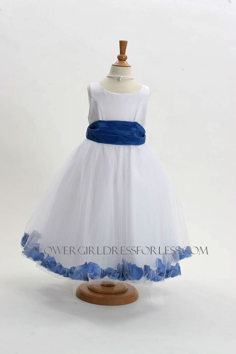 Mb152wroy Flower Girl Dress Style 152 Choice Of White Or Ivory