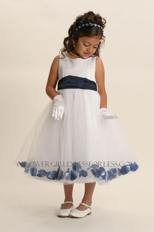 5c70fe78120 MB 152WW - Flower Girl Petal Dress Style 152- BUILD YOUR OWN! 22 Petal  Color Options - Petal Dresses - Flower Girl Dresses - Flower Girl Dress For  Less