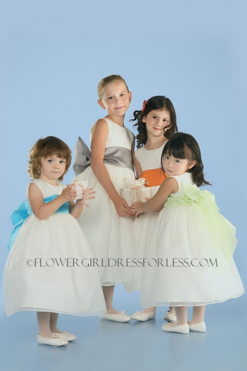 Ua409 Us Angels Flower Girl Dress Style 409 Build Your Own