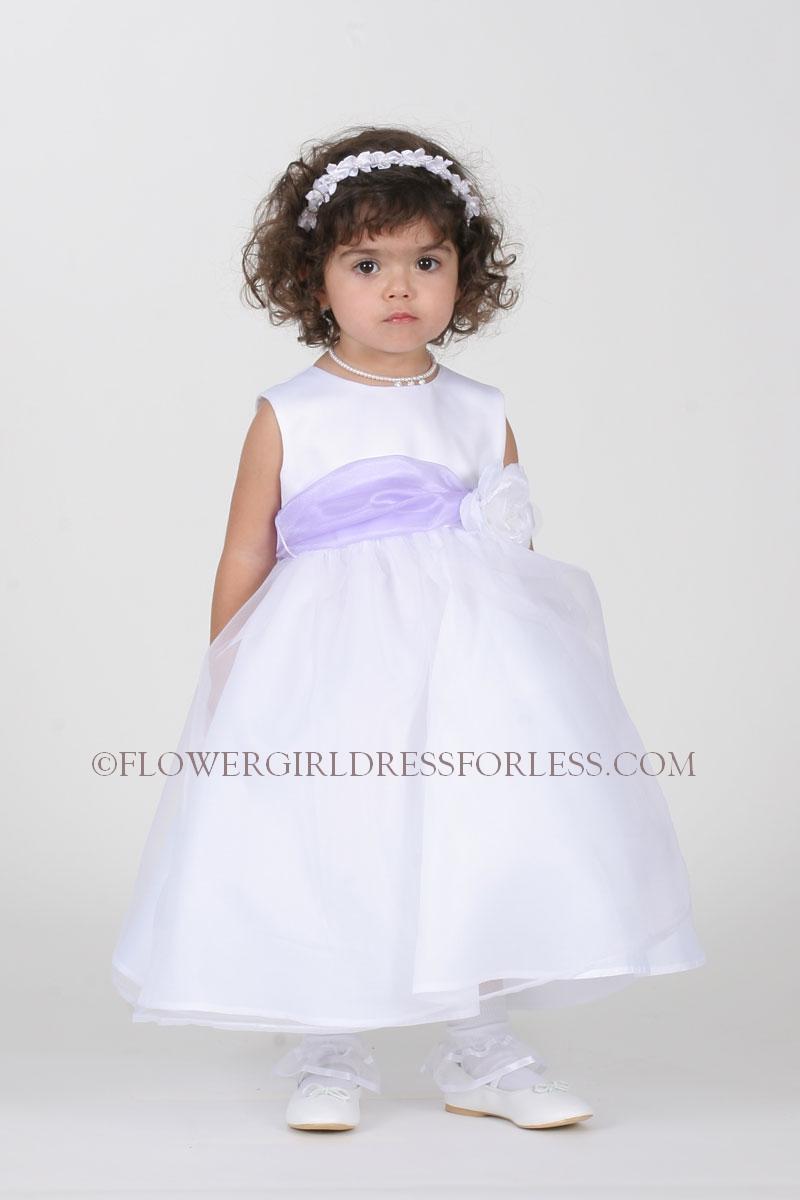 Tt5378 L Flower Girl Dress Style 5378 Choice Of Ivory Or White