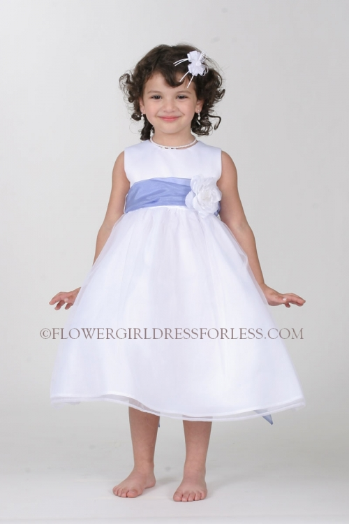 6aaefe87973 Tt 5378 Pb Flower Dress Choice Of Ivory Or White