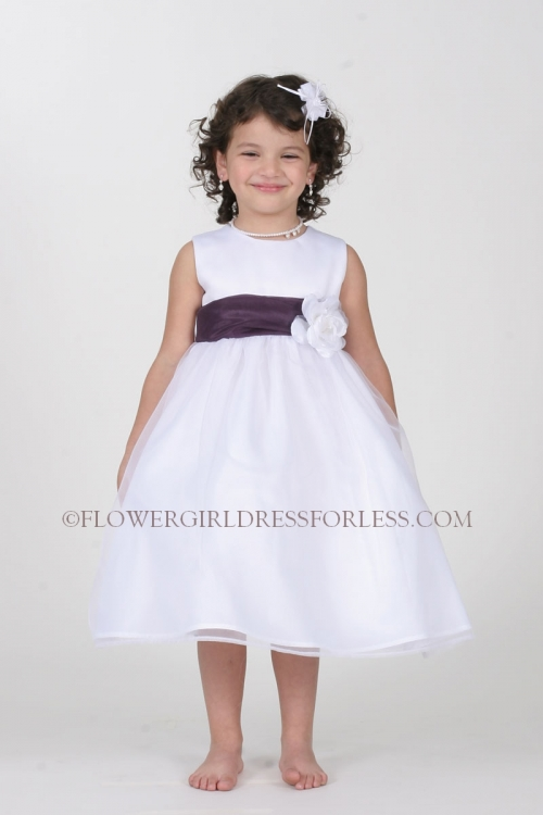 Tt5378 pm flower girl dress style 5378 choice of ivory or white flower girl dress style 5378 choice of ivory or white dress with plum sash and mightylinksfo