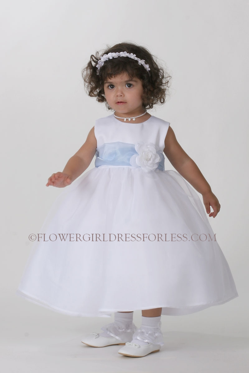 Tt5378 Sb Flower Girl Dress 5378 Choice Of Ivory Or White Dress