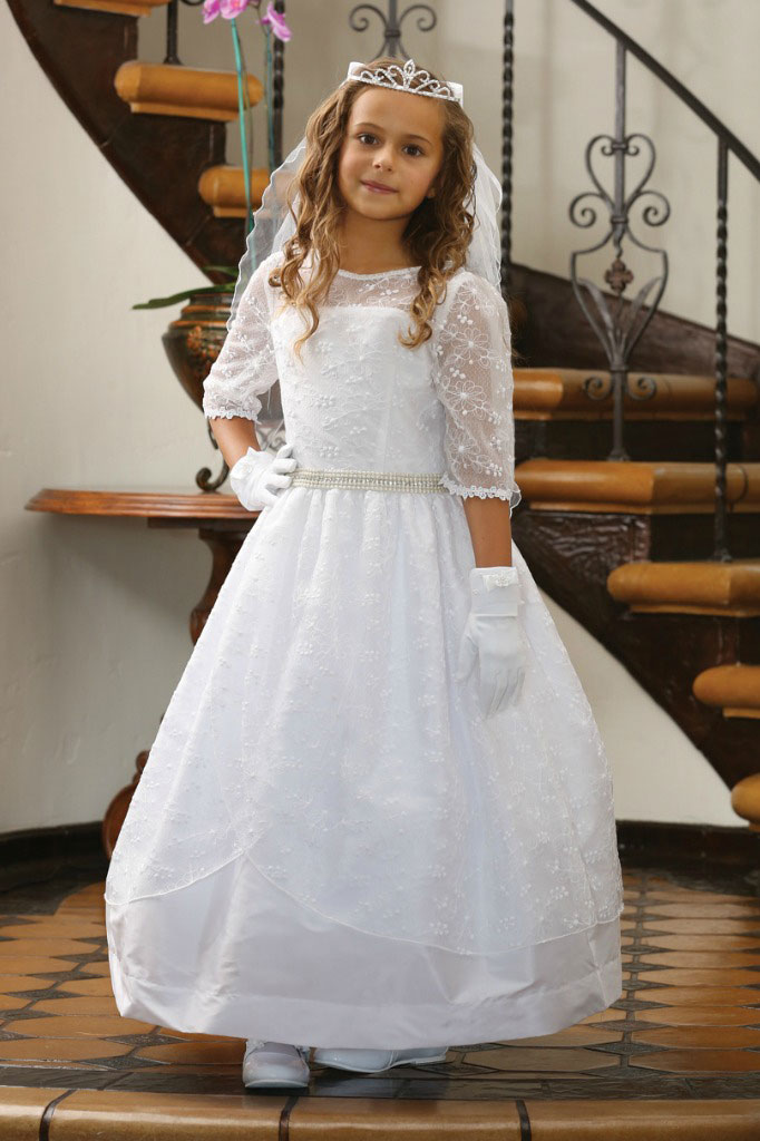 Ag Dr1626 Girls Dress Style Dr1626 Three Quarter