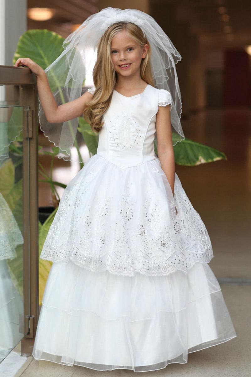 Ag Dr1632 Girls Dress Style Dr1632 Our Lady Of