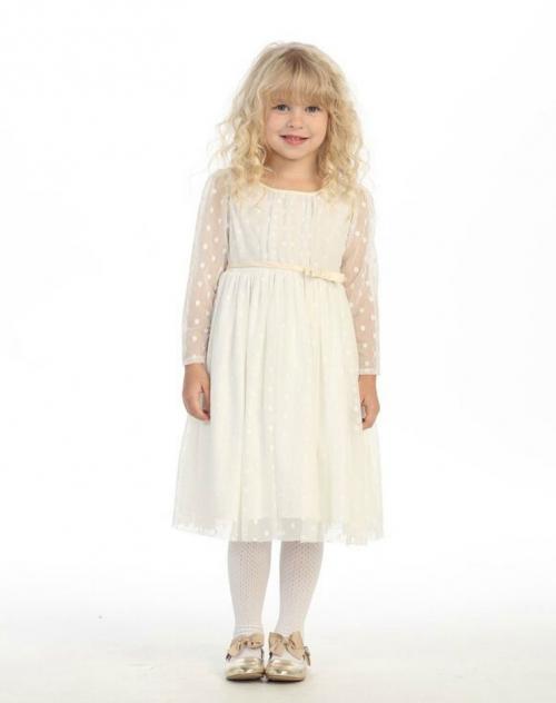 AG_DR3071_SALE - Girls Dress Style DR3071 - SALE OFF WHITE Long ...