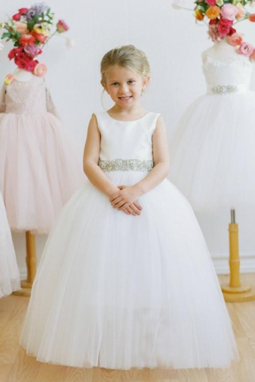 3cabac4958 AM FG148 - Designer Amalee Girls Dress Style FG148 - Sleeveless ...