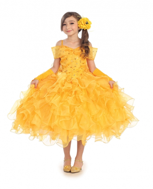S Dress Up Costume Style 1011 Belle Inspired With Multi Layer Skirt
