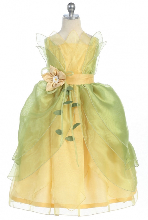 S Dress Up Costume Style 1211 Princess Tiana Inspired