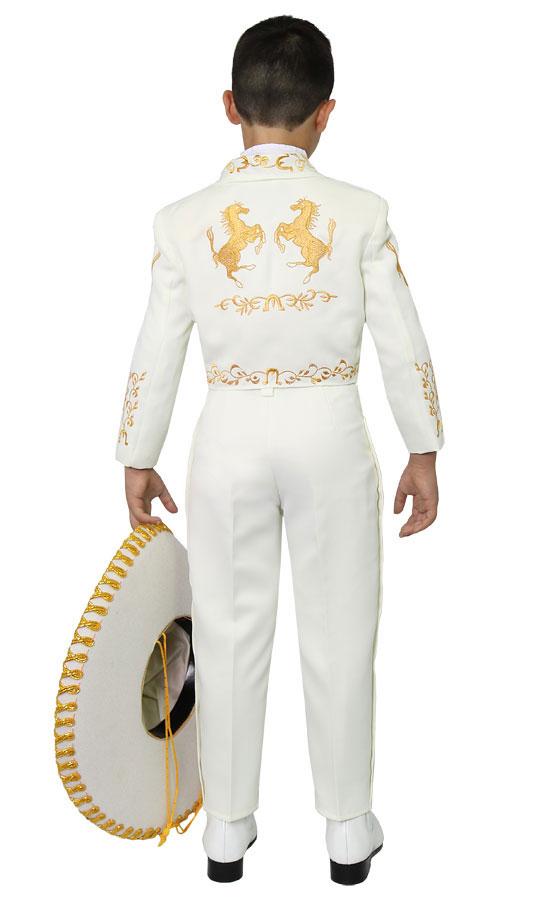 19809f9108 CA CHARRO-IVGD - Boys Suit Style CHARRO - IVORY-GOLD- Boys Charro ...