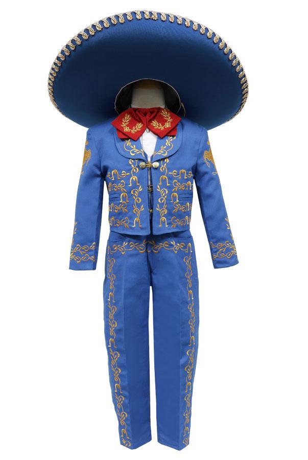 2477256b65 CA CHARRO-RYGD - Boys Suit Style CHARRO - ROYAL BLUE-GOLD- Boys ...