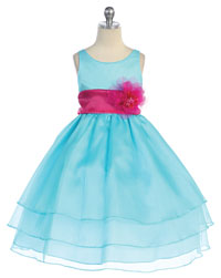 Blue [All Shades] - Flower Girl Dresses - Flower Girl Dress For Less