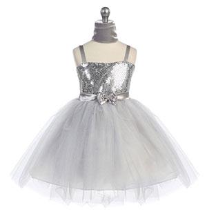 Beaded and Sequined Dresses - Flower Girl Dresses - Flower Girl ...