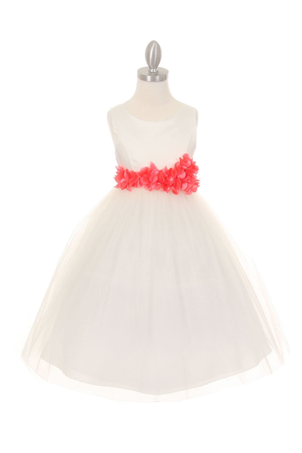 CC 1170 4IVCO Girls Dress Style 1170 4 Choice of White