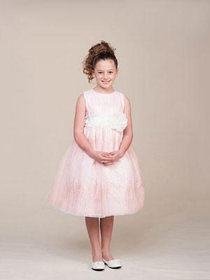 03532ed44 CK 987BP - Girls Dress Style 987- Sleeveless Tulle and Sequin Dress ...