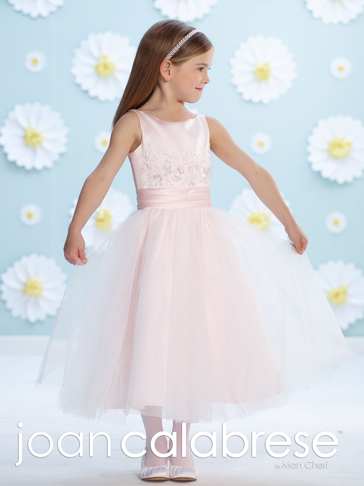 Jc 116393 Joan Calabrese Style 116393 Satin Dress With
