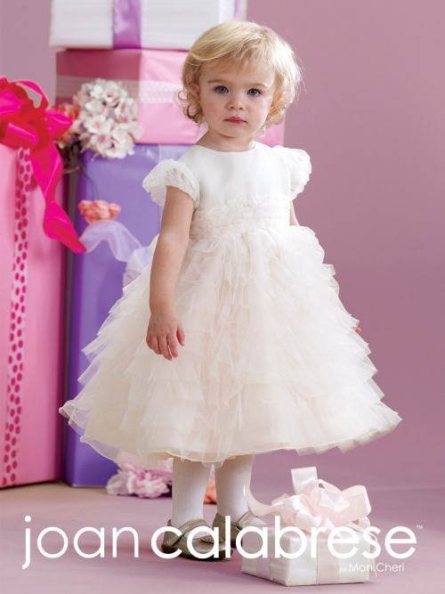 45e99b291 JC 215354B - Joan Calabrese Style 215354 - Infant Cap Sleeve Tulle ...