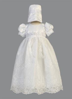 00d6b90e4ecae Girls Baptism-Christening Gown Style SALE ASHLEY Size 0-3 months