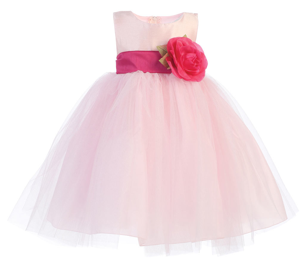 L Bl228p Girls Dress Style Bl228 Build Your Own Dress