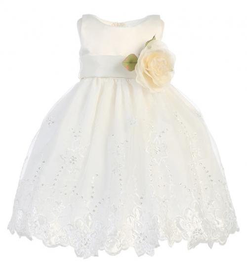 8bcbdb650d L BL238IV - Girls Dress Style BL238 - BUILD YOUR OWN DRESS - Sizes 7-16 - Flower  Girl Dresses - Flower Girl Dress For Less