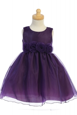 494ec63afdba Girls Dress Style C517- SALE Purple 18-24mth (1 piece available)