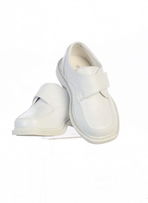 Lito Little Boys Black Velcro Matte Special Occasion Dress Shoes Kids