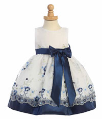 Dark Blue - Flower Girl Dresses - Flower Girl Dress For Less