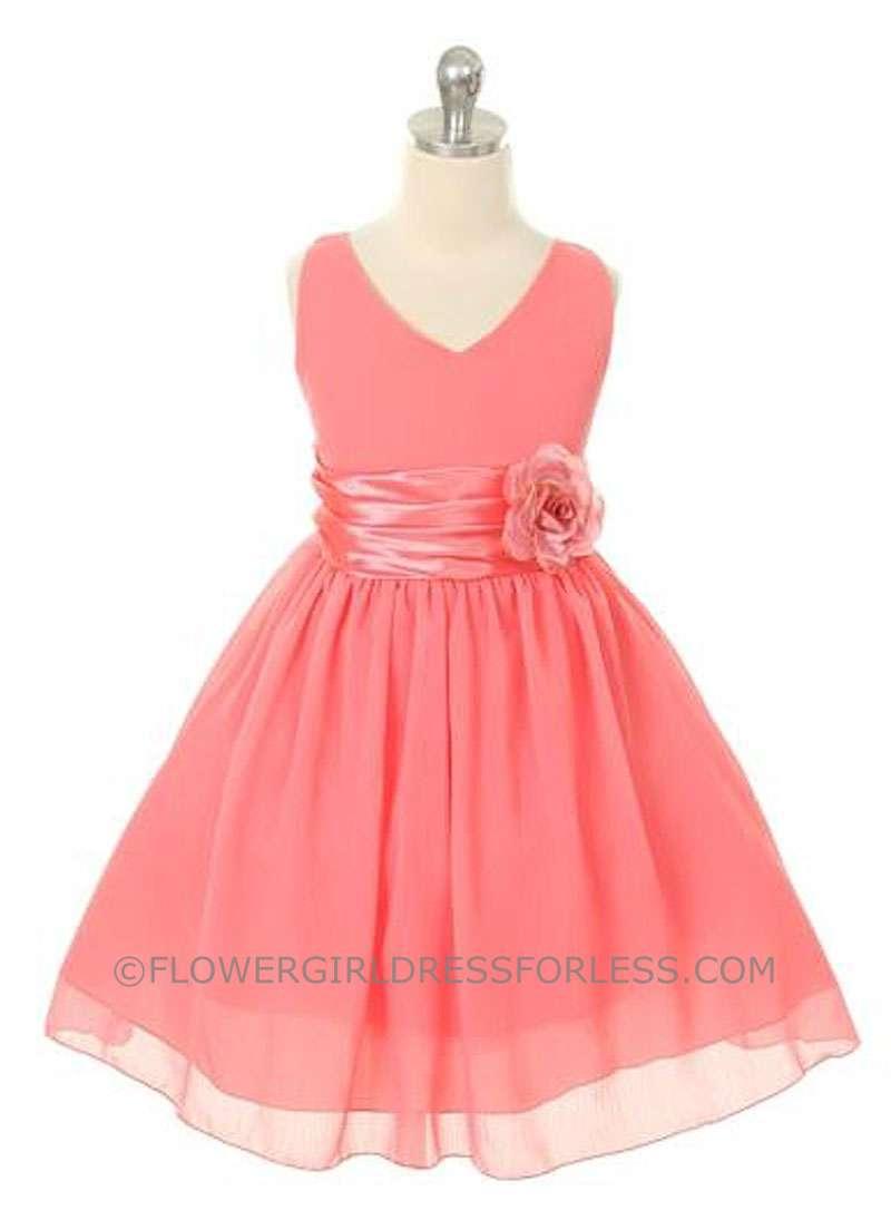 Colored Flower Girl Dresses