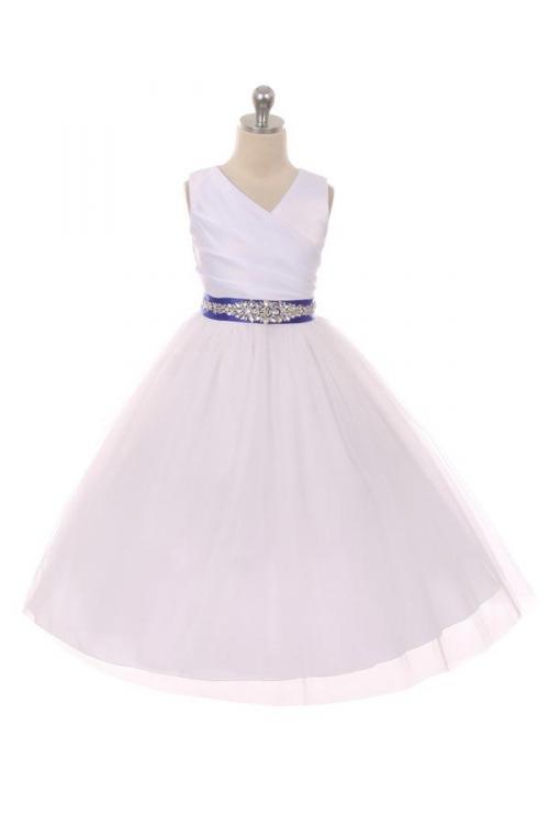 MB_276CB_RY - Flower Girl Dress Style 276CB- White or Ivory Dress ...
