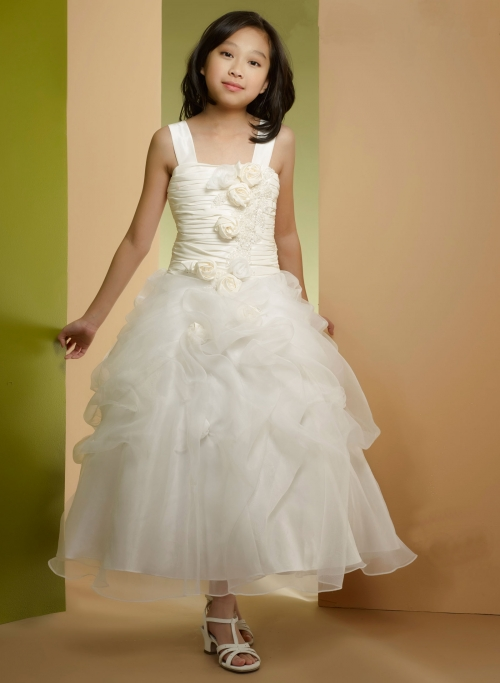 Wedding Dress with Pickups