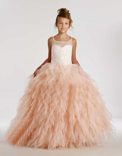 MD_1852BL - Macis Couture-Designer Girls Dress Style 1852 ...