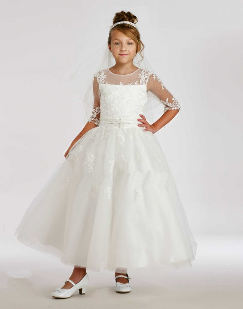 MD_1860 - Macis Couture-Designer Girls Dress Style 1860- European ...