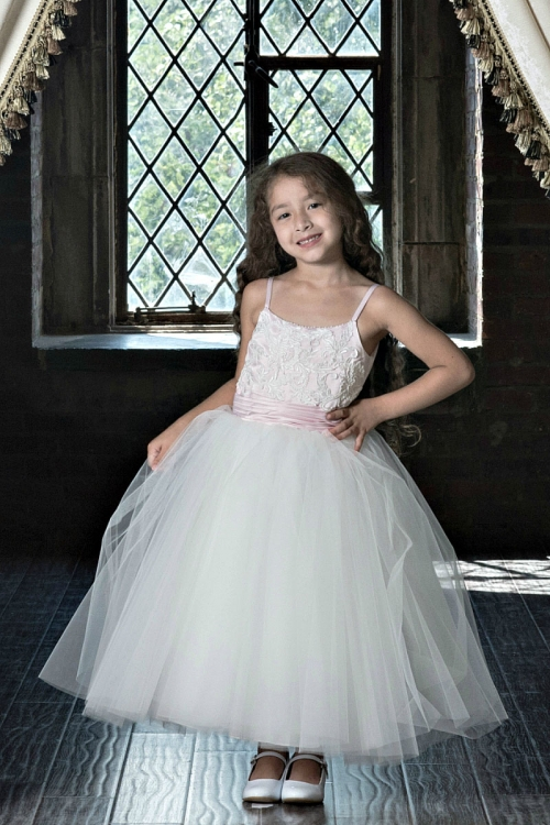 MD_7804 - Couture-Designer Girls Dress Style 7804 - Spaghetti Strap ...