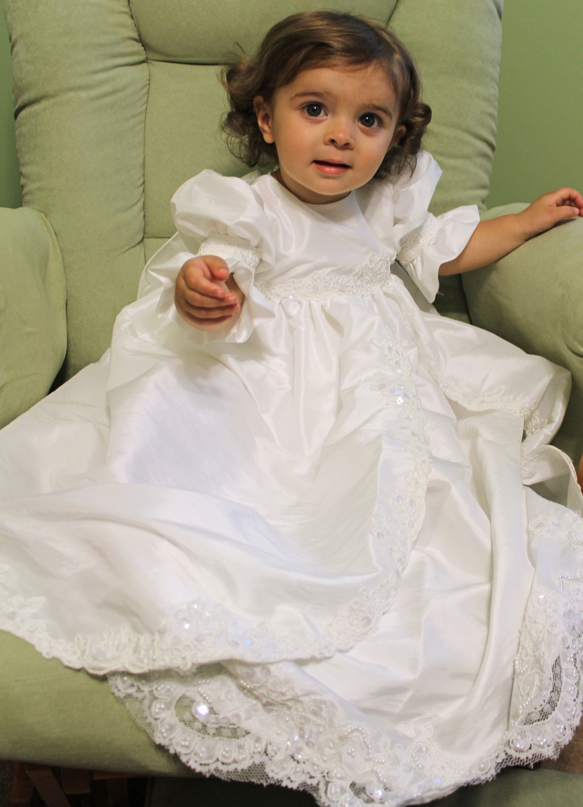 MD_CH203 - Couture-Designer Girls Christening Gown Style CH203 ...