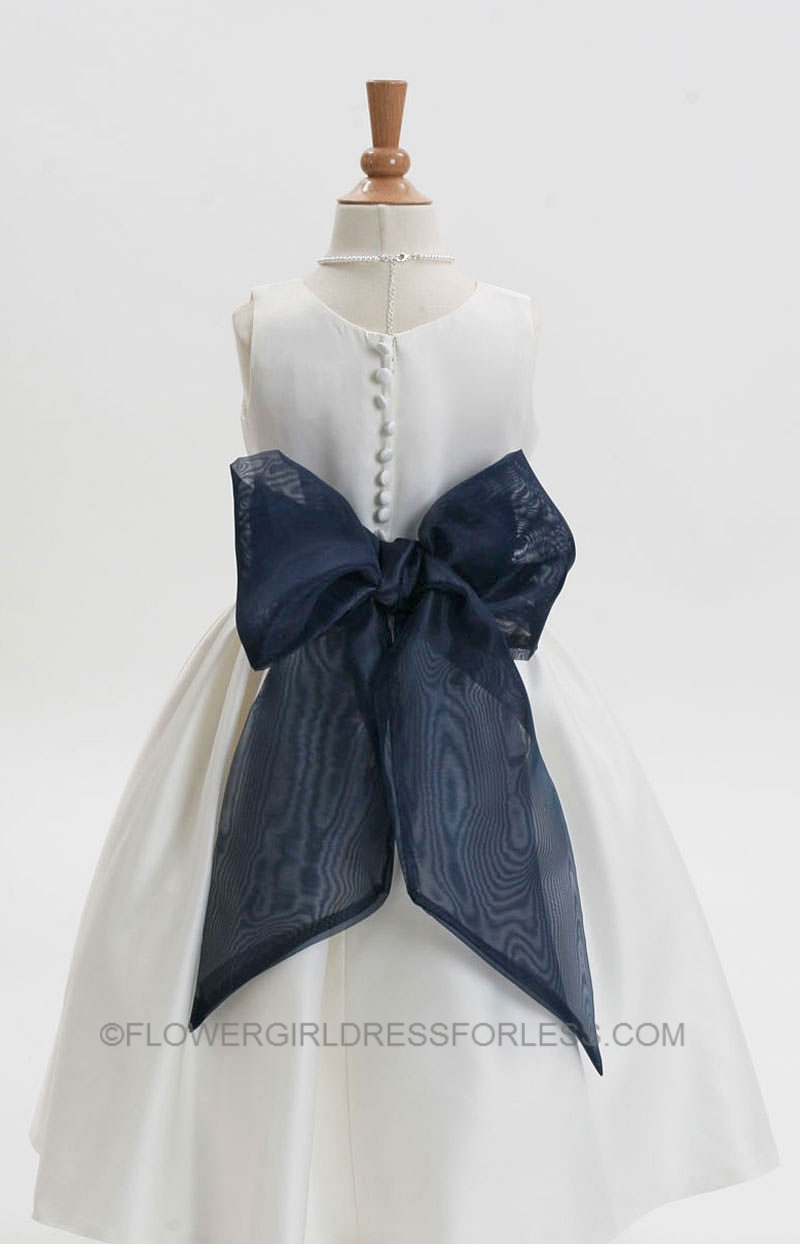Flower girl dresses navy sash amore wedding dresses flower girl dresses navy sash 77 izmirmasajfo Image collections